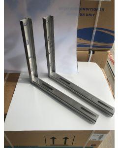 Стойки за климатик- изработени от неръждаема стомана.